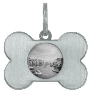 Venecia Placa Mascota