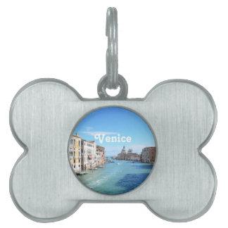 Venecia Placas Mascota