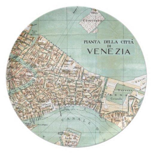 Venecia Platos Para Fiestas