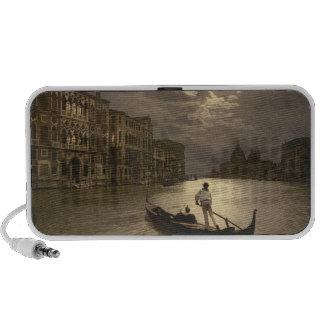 Venecia por los altavoces del claro de luna