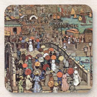 Venecia por Prendergast, impresionismo del poste Posavaso