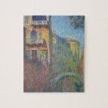 Venecia, Río de Santa Salute de Claude Monet Puzzle