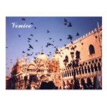 Venecia romántica Italia Postal