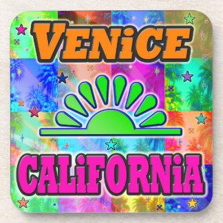 Venecia Sun y práctico de costa de las palmas Posavasos De Bebidas