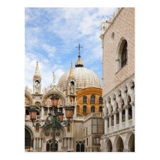 Venecia, Véneto, Italia - los pájaros se encaraman Postal