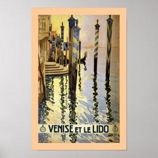 Venecia y le Lido Impresiones