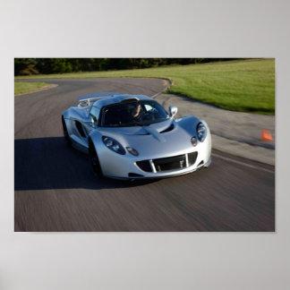 Veneno 2012 de Hennessey GT Póster