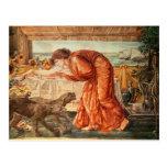 Veneno de colada de Circe en un florero Tarjetas Postales