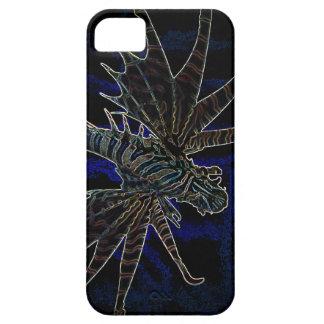 Veneno del azul del Lionfish B Funda Para iPhone SE/5/5s