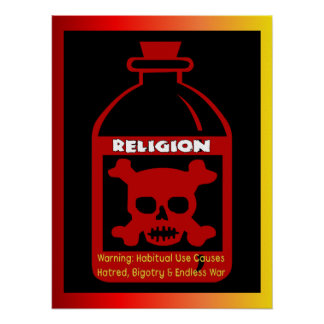 Veneno religioso impresiones