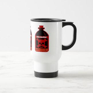Veneno religioso taza térmica