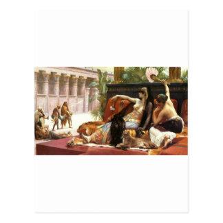 Venenos de la prueba de Cabanel Cleopatra en el Tarjeta Postal
