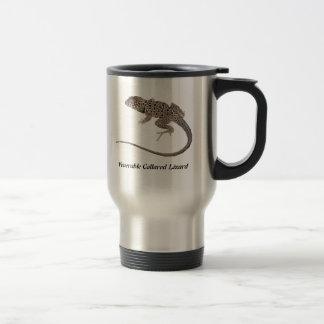 Venerable Collared Lizard Travel Mug
