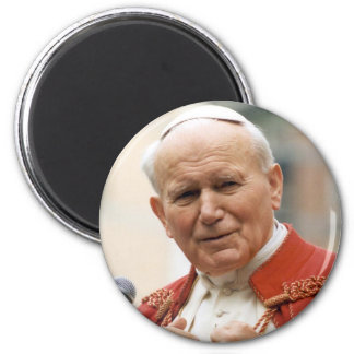 Venerable Pope John Paul II 2 Inch Round Magnet