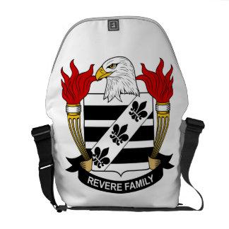 Venere el escudo de la familia bolsas messenger