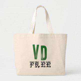 Venereal Disease Free Canvas Bag