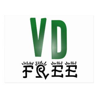 Venereal Disease Free Postcard