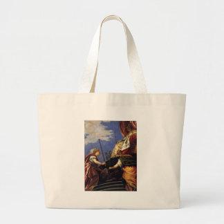 Venetia between Justitia and Pax by Paolo Veronese Jumbo Tote Bag