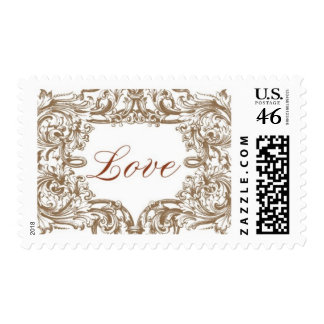 Venetian A by Ceci New York Postage Stamp