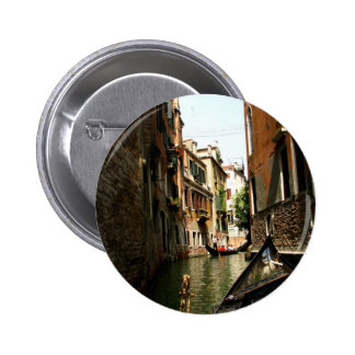 Venetian Alleyway Pinback Button