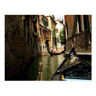Venetian Alleyway Postcard