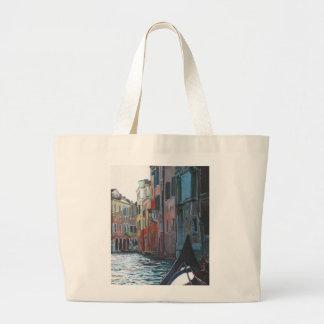 Venetian backwater 2012 large tote bag