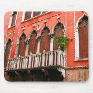 Venetian Balcony Mouse Pad