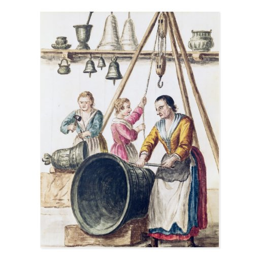 Venetian Bellmaker's Shop Postcards