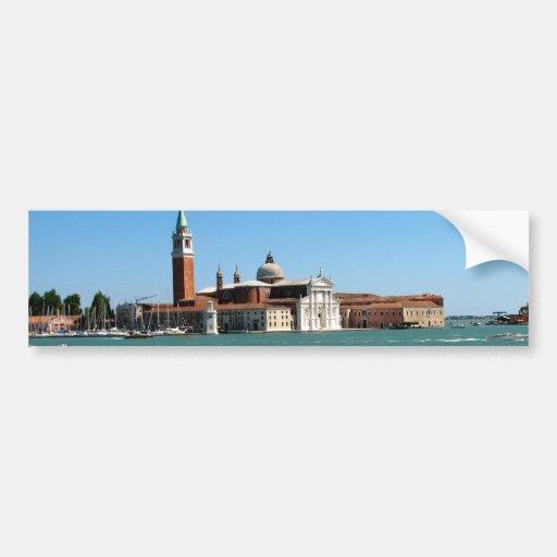Venetian Blue Bumper Sticker