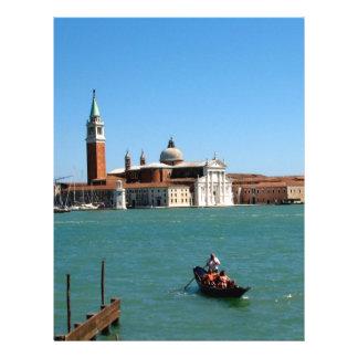 Venetian Blue Full Color Flyer