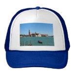 Venetian Blue Mesh Hat