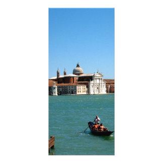 Venetian Blue Rack Card