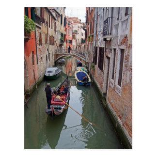 Venetian Canal - 2 Postcard