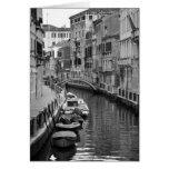 Venetian Canal Card Greeting Card