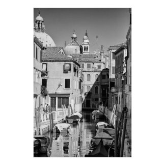 Venetian Canal - Poster