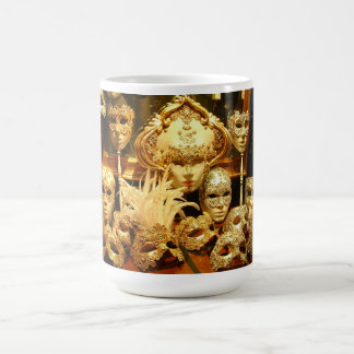 Venetian Carnival Masks Coffee Mugs