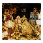 Venetian Carnival Masks - Venice, Italy POSTER