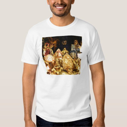 Venetian Carnival Masks - Venice, Italy T-Shirt