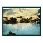 Venetian Casino, Coral Gables, FL Vintage Post Cards