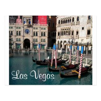 Venetian Casino Little Italy Las Vegas Postcard