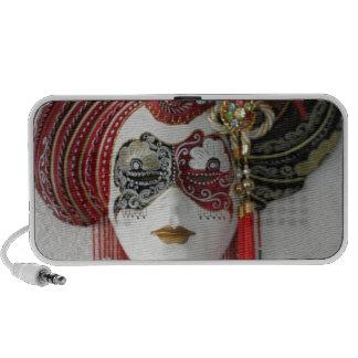Venetian Ceramic Mask Mini Speakers