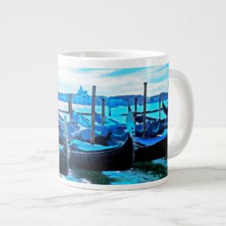 Venetian Chariots ~ Jumbo 20 oz. Mug 20 Oz Large Ceramic Coffee Mug