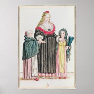 Venetian Courtesan Poster
