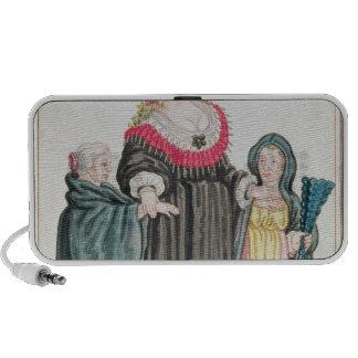 Venetian Courtesan Notebook Speakers