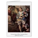 Venetian Festival (Fêtes Vénitienne) Detail Greeting Card