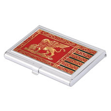 Venetian Flag Case For Business Cards