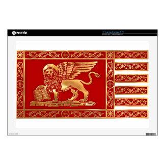 Venetian Flag Decal For Laptop