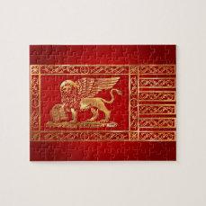 Venetian Flag Jigsaw Puzzle