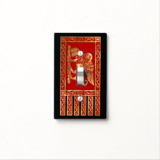 Venetian Flag Light Switch Cover