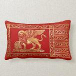 Venetian Flag Pillow